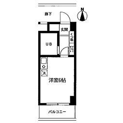 第2サンコート東戸塚[309号室]の間取り