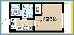 Belle Scene Itabashi 〜ベルセーヌイタバシ〜[1階]の間取り