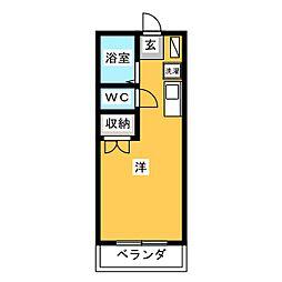 KAYO[2階]の間取り
