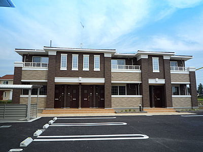 外観,2LDK,面積58.95m2,賃料6.9万円,つくばエクスプレス 研究学園駅 徒歩29分,,茨城県つくば市学園の森3丁目