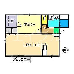 コルピーナ[2階]の間取り