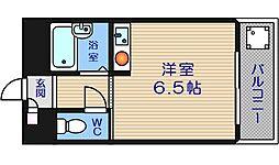 サンキャドマスMinami・堀江[5階]の間取り