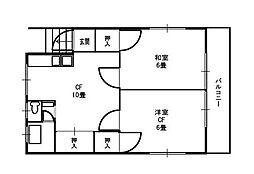 熊野町戸建ハッピーハウス[2階]の間取り