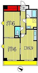 インシュランスビルディング II・III[3階]の間取り