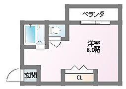 Flat.T栄町[303号室]の間取り