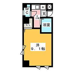 ハーモニーマンション[2階]の間取り