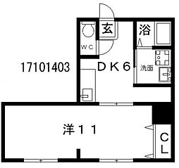 佐吉マンション[3階]の間取り