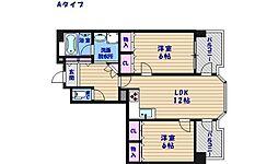 マンシオン・タイラ[6階]の間取り