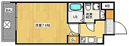 FDS WILL KOHAMA[7階]の間取り