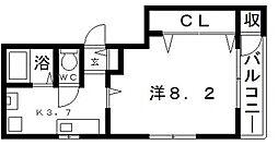フモセ杉本[2階]の間取り