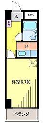 新松戸NCAマンション[603号室]の間取り