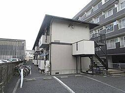 東京都江戸川区松江6丁目の賃貸アパートの外観