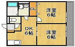 レトア博多駅南[1階]の間取り