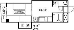 ケイアイマンション[305号室]の間取り
