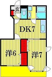 SUNCRESTALL II[1階]の間取り