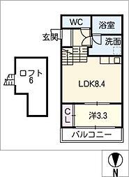 FAMILY STAGE川名I[1階]の間取り