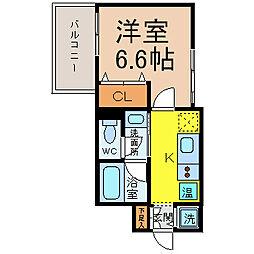 東桜コート[7階]の間取り