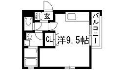 カメリア[1階]の間取り