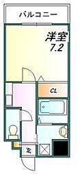 アルヴェアーレ[4階]の間取り
