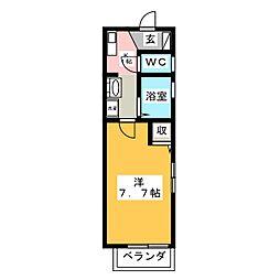 サイトウメモリアル[2階]の間取り