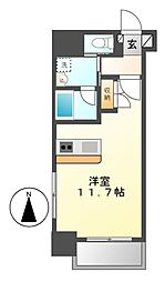 Plan Baim大須駅前[8階]の間取り