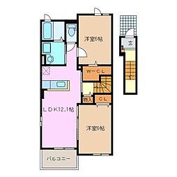 ラナハウス 30 I[2階]の間取り