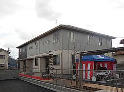 愛媛県松山市西垣生町の賃貸アパートの外観