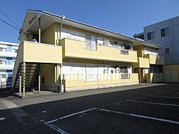 クローバーA[2階]の外観