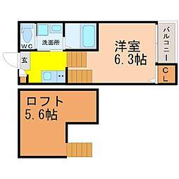 仮称)東区車道町新築デザイナーズ[1階]の間取り