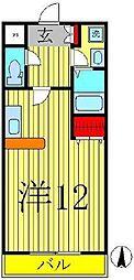 モアル ヤタ藤[2階]の間取り