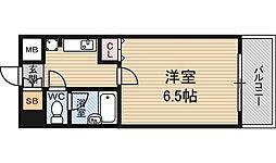 ダイアパレス新大阪宮原[4階]の間取り