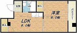ニューライフ赤坂[8階]の間取り