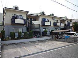 大阪府富田林市津々山台2丁目の賃貸アパートの外観