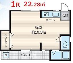 TAZAKI[2階]の間取り