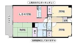 福岡県福岡市西区内浜1丁目の賃貸マンションの間取り