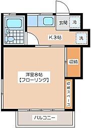 武蔵ハイム[2階]の間取り