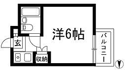 ハイツ甲東PART2[2階]の間取り