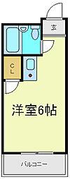 ラフォンテ今川[3階]の間取り