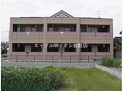 岡山県倉敷市水江丁目なしの賃貸アパートの外観