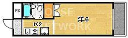レオ倉高[308号室号室]の間取り