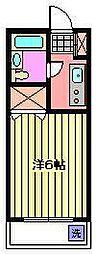 埼玉県さいたま市桜区神田の賃貸マンションの間取り