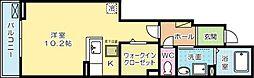 グランエスポワール[1階]の間取り