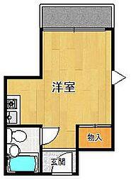 グレイスマンション1番館[309号室]の間取り