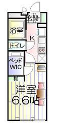 神奈川県横浜市旭区今宿東町の賃貸マンションの間取り