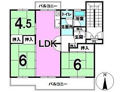 戸頭第3住宅 22号棟