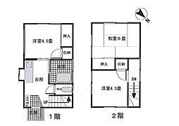 [一戸建] 神奈川県横浜市戸塚区汲沢8丁目 の賃貸【/】の間取り
