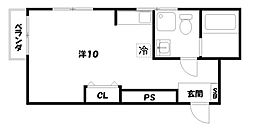 京峰ビル[3階]の間取り