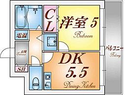 フルール妙法寺[2階]の間取り