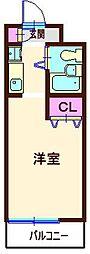 メゾン・ド・プラシード[305号室]の間取り
