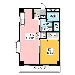 シャトレ弐番館[2階]の間取り